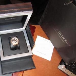 Продаю золотые швейцарские часы Maurice Lacroix Retrograde calender Ma