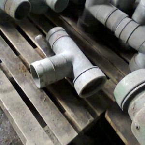 Тройник прямой ПМТП-150