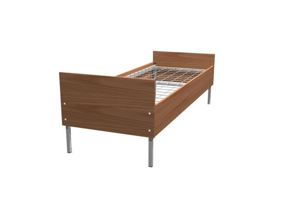 Заказать бюджетные кровати металлические по низкой цене 3