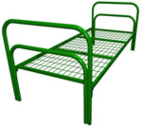 Заказать бюджетные кровати металлические по низкой цене 2