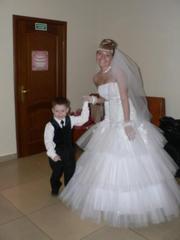 Продам свадебное платье! р-р 42-46.